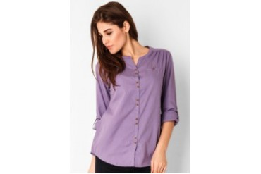 Heath Blouse With Hidden Pocket