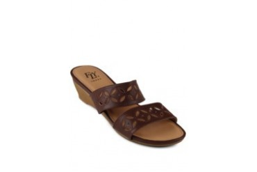 FLY Diantha Sandals Wedges D.Brown