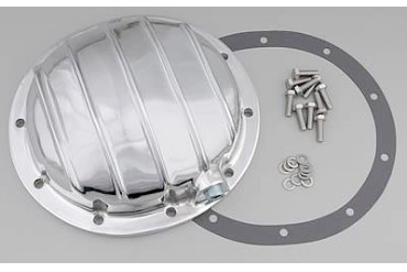 Trans-Dapt GM 8.6in. 10 Bolt Polished Aluminum Cover 4833 Differential Covers