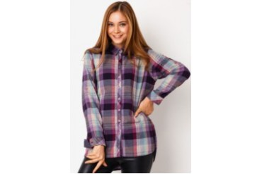 Triset Ladies Long Sleeve with Collar Shirt
