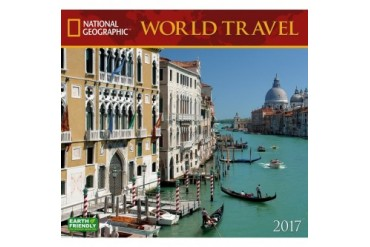 World Travel Wall Calendar
