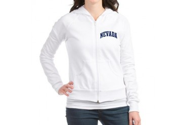 Blue Classic Nevada Travel Jr. Hoodie by CafePress