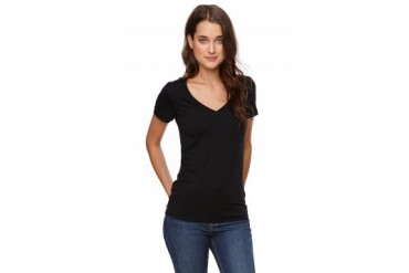 Womens Nollie Tees & Tanks - Nollie V-Neck T-Shirt