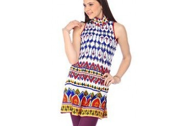 Global Desi Enchanting Multicolored Kurti