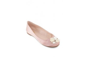 Biondini by Shoeville Ballerina with Stones Flats