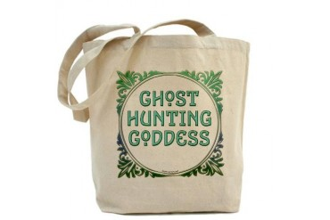 Ghost Hunting Goddess Hunting Tote Bag by CafePress