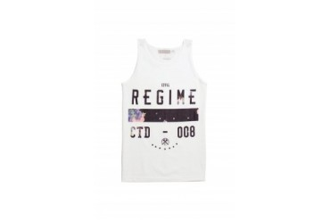 Mens Civil Tank Tops - Civil Regime Control Tank Top