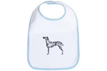 Industrial Silver Dog Pets Bib by CafePress