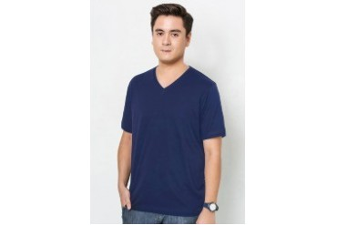 Plus Size V-Neck T-shirt