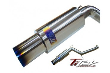 Titek Cat-Back Titanium Exhaust System 76mm Mitsubishi EVO 89 03-07