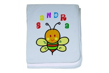 Sandra Cute baby blanket by CafePress