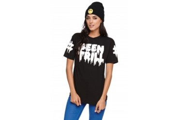 Womens Been Trill Tees & Tanks - Been Trill Logo Short Sleeve T-Shirt