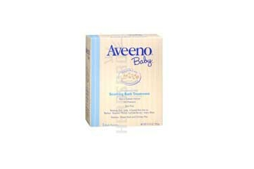Aveeno Baby Soothing Bath Treatment Fragrance Free 5 pkts