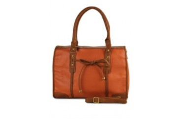 KUKI Bags Audrey Hand Bag Orange