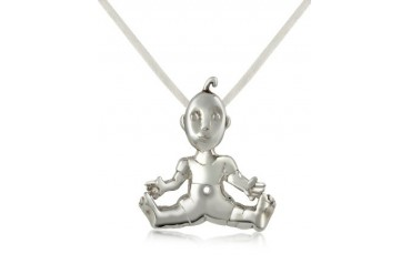 I Mimmi - Sterling Silver Baby Pendant