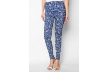EZRA by ZALORA Printed Leggings