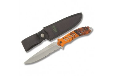 Remington F.A.S.T. Fixed Blade with Blaze Orange Mossy Oak Handle