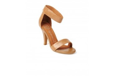 Jeffrey Campbell 'Hough' Ankle Strap Heels Taupe, 8