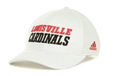 Louisville Cardinals NCAA Adidas Camp Structured Adjustable Hat