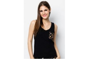 Pestle & Mortar Buah Pocket Ladies Tank