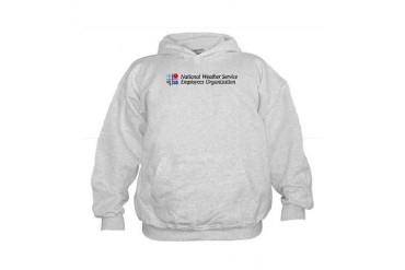 NWSEO power Weather Kids Hoodie by CafePress