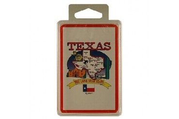 Ddi Texas Playing Cards State Map 24 Display Unit (pack Of 96)