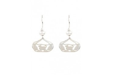 BAWA by JANICE GIRARDI E54338WHT Earrings