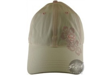 DC Comics Supergirl Flames Logo Pink Embroidered Velcro Closure Hat ... 3684ce704f0c