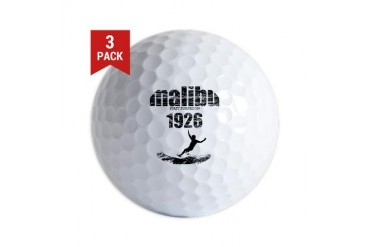 malibu 1926.jpg Sports Golf Balls by CafePress