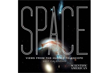Space Views from the Hubble Telescope Mini Wall Calend