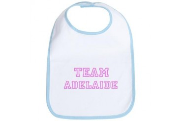 Pink team Adelaide Sports Bib by CafePress