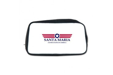 Santa Maria Pride California Toiletry Bag by CafePress