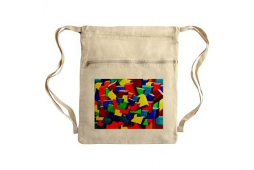 Motley 3D Sack Pack Art Cinch Sack by CafePress