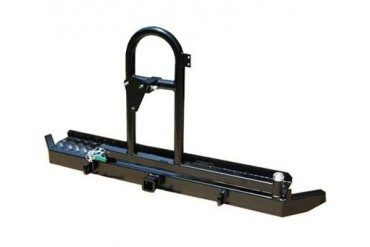 Garvin Industries ATS Series Swing-Away Tire Carrier with Hitch and D-ring Mounts  71000 Rear Bumpers