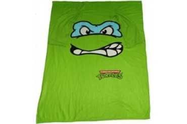 Ninja Turtles Leonardo Face Sleeved Blanket