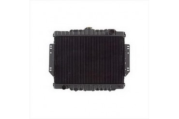 Omix-Ada Replacement 2 Core Radiator for AMC 6 or 8 Cylinder Engine with Automatic Transmission 17101.09 Radiator