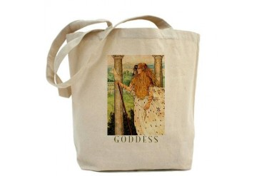 Athena Goddess Tote Bag by CafePress