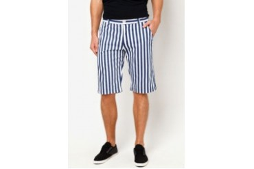 Ad Jeans Striped Shorts