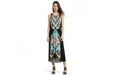 Wendy Matte Jersey Patterned Dress