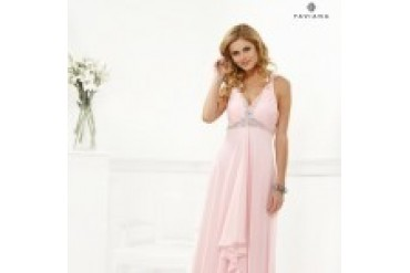 "Faviana ""In Stock"" Ice Pink Dress - Style 6916"