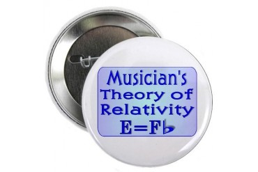 Music Teacher Theory Button Music 2.25 Button by CafePress