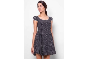 Catwalk88 Polkadot Dress with Belt