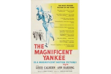 The Magnificent Yankee Movie Poster (11 x 17)