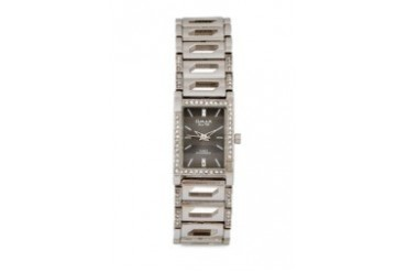 Omax JES562G Alloy Silver Watch