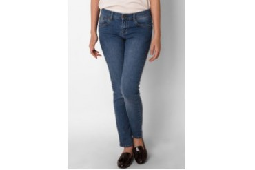 novel.mice Royal Blue Skinny Jeans
