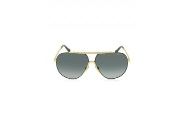 BENNY/S FHGHD Black Metal Aviator Women's Sunglasses