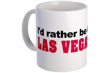 I'd rather be in Las Vegas American Mug by CafePress