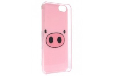 Pink Pigs Face iPhone 5C Case