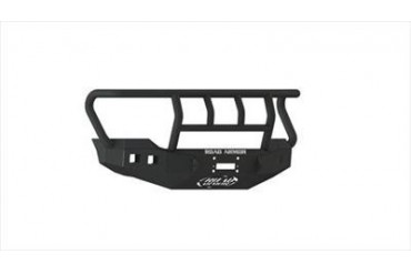Road Armor Rigid Series Front Stealth Winch Bumper with Titan II Guard in Satin Black 611R2B Front Bumpers