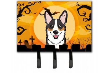 Halloween Tricolor Corgi Leash or Key Holder